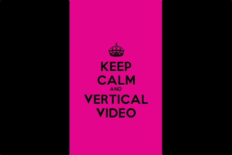 Vous allez vous aussi succomber à la folie des «Vertical Videos» !